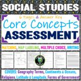 Social Studies Core Concepts