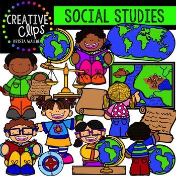 Social Studies {Creative Clips Digital Clipart}