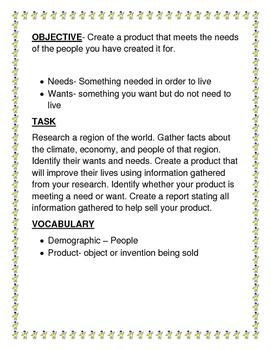 Social Studies Culture  Research Project