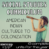 Social Studies Curriculum Bundle for Native American India