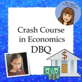 Social Studies DBQ: Crash Course in Economics