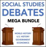Social Studies Debates - MEGA BUNDLE - History and Civics