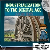Industrialization to Digital Age Bundle of Texts for Reading and Social Studies