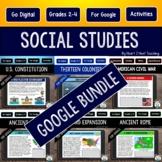 Social Studies Bundle for Google Classroom {A Growing Bundle}