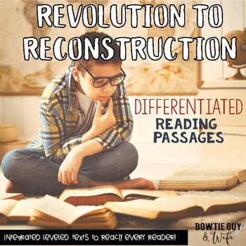 Social Studies DIGITAL Passages: Revolution to Reconstruction Nonfiction Texts