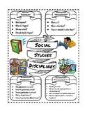 Social Studies Disciplines Graphic Organizer