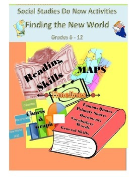 Social Studies Do Now: Finding the New World