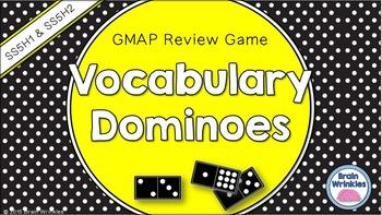 Social Studies Dominoes - 5th Grade GMAP Review (Set 1 of 4)