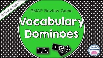 Social Studies Dominoes - 5th Grade GMAP Review (Set 3 of 4)