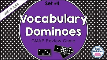 Social Studies Dominoes - 5th Grade GMAP Review (Set 4 of 4)