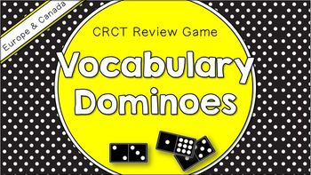 Social Studies Dominoes - 6th Grade CRCT Review (Set 1 of 2)