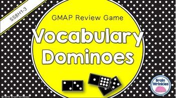 Social Studies Dominoes - 8th Grade GMAP Review (Set 1 of 5)