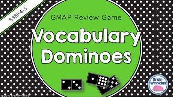 Social Studies Dominoes - 8th Grade GMAP Review (Set 2 of 5)