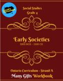 Social Studies - Early Societies - Grade 4 Workbook