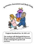 Social Studies: Economics Bartering and Exchanging Money Test