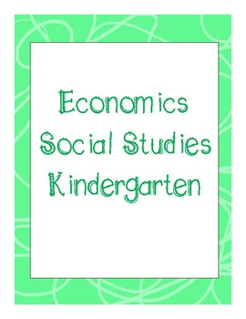 Social Studies Economics Unit