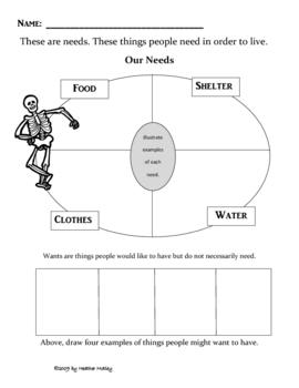 all worksheets needs vs wants worksheets printable worksheets guide for children and parents. Black Bedroom Furniture Sets. Home Design Ideas