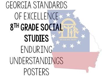 Social Studies Enduring Understandings Posters