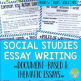 Social Studies Essay Writing!