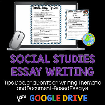 Comparison Contrast Essay Example Paper  Proposal Essay Template also Good High School Essays Social Studies Essay Writing By A Social Studies Life  Tpt The Yellow Wallpaper Critical Essay