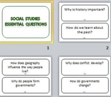 Social Studies Essential Questions Grade 6