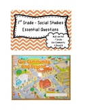 """Social Studies Essential Questions for McGraw-Hill """"Our Co"""