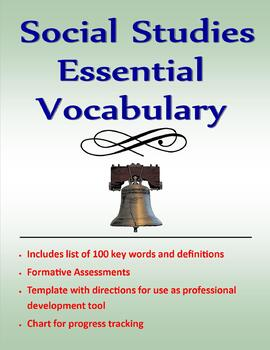 Social Studies Essential Vocabulary Project