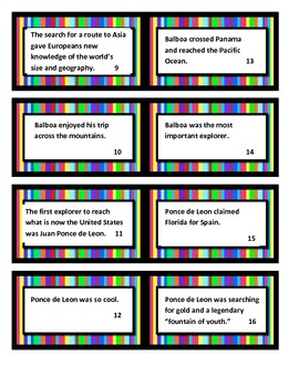 Social Studies Explorer Fact and Opinion Game