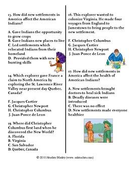 Social Studies: Explorers Study Guide and Assessment