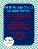 Social Studies Extended Standards Fourth Grade Bundle