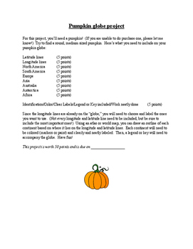 Fall Project - Halloween Project - Social Studies project