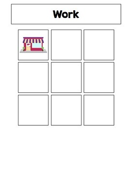 Social Studies File Folder Activities {for special education}