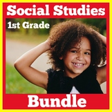 Social Studies First Grade BUNDLE