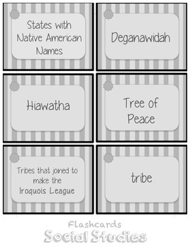 Social Studies Flashcards WordWall StudyGuide Scott Foresman's Building a Nation