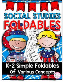 Social Studies Foldables {20 Different Topics for the ENTIRE YEAR}