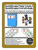 Social Studies Folder Labels (editable)