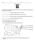 Social Studies: Frederick Douglass Worksheet