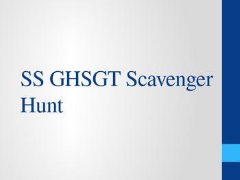 Social Studies GHSGT Scavenger Hunt