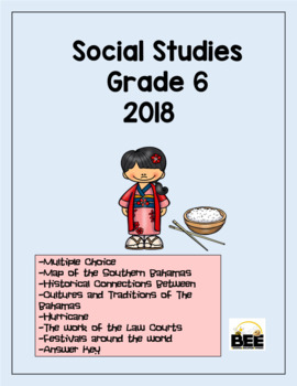 Social Studies GLAT 2018 Grade 6 with answers