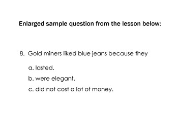 Social Studies GOLD RUSH Reading w/ 10 Comprehension Qs + Writing Diary Entries