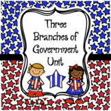 GOVERNMENT Social Studies Unit - Three Branches of Governm