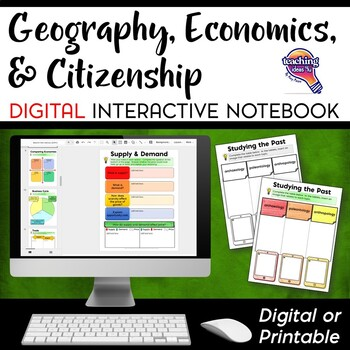 Social Studies Geography Economics Citizenship DIGITAL Int