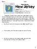 Social Studies Geography New Jersey State Morning Work/ Discussions/ Activities
