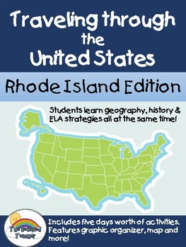 Social Studies Geography Rhode Island State Morning Work Activities
