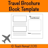 Social Studies (Geography) Travel Brochure/Book Template (Blank)