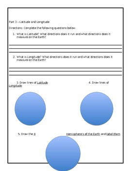 Social Studies Geography Vocabulary Assessment
