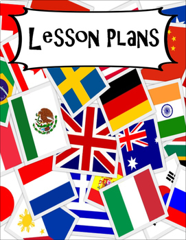 CLASSROOM DECOR, BINDER LABELS, ALL SUBJECTS, World Flags