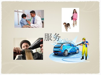Social Studies- Goods and Services in Chinese PPT