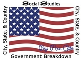 Social Studies Government Break Down