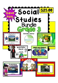 Social Studies Gr. 3 Bundle